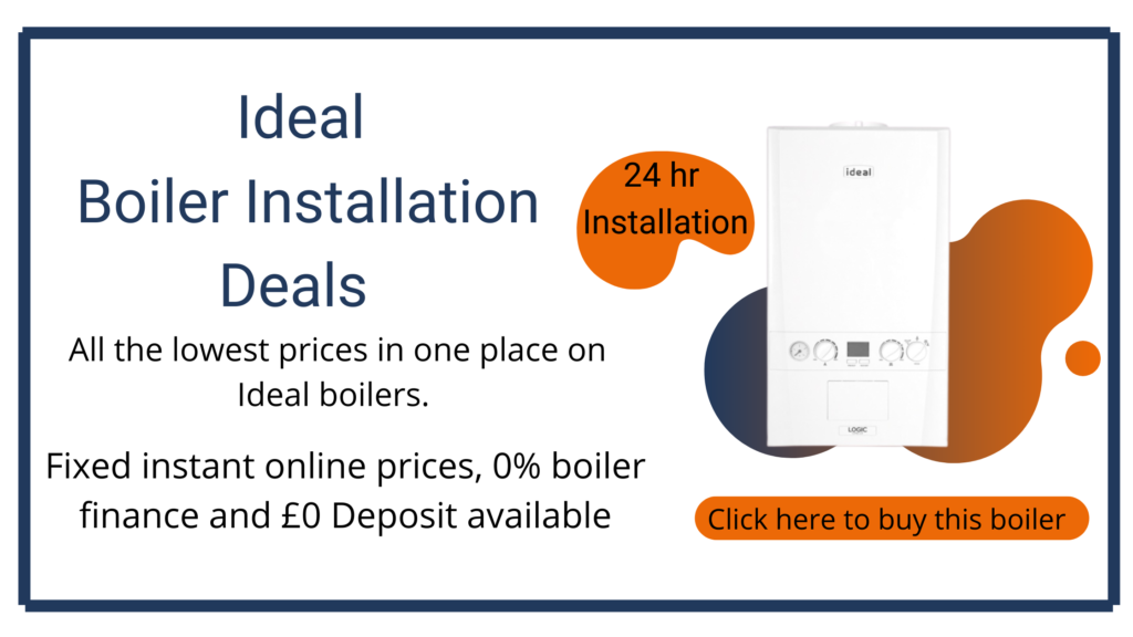 ideal boiler installation costs